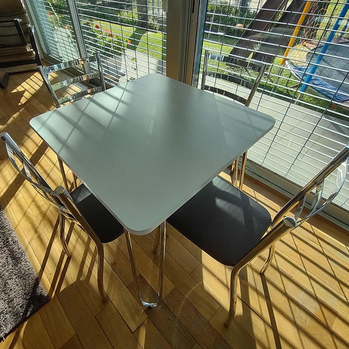Cadeira em Alumínio e Madeira - CAC.01