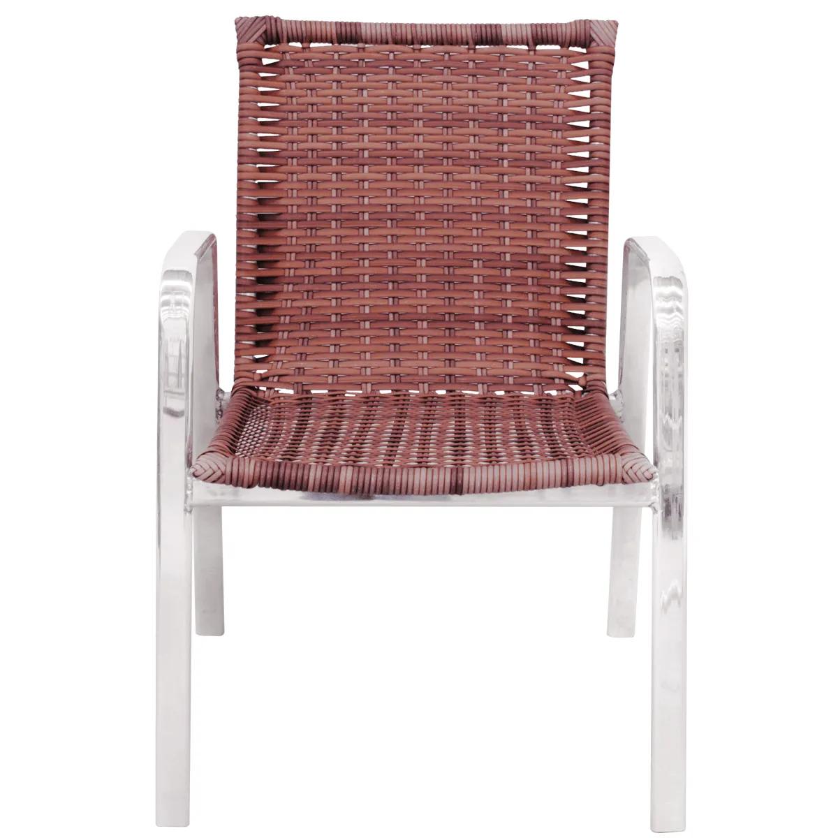 CR06 - Cadeira em Alumínio e Fibra Sintética 10mm