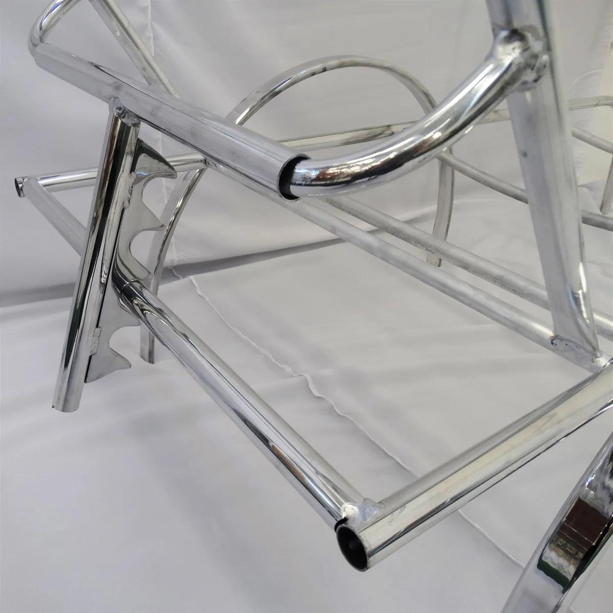 Estrutura em Alumínio | Espreguiçadeira em Fibra Sintética ER181