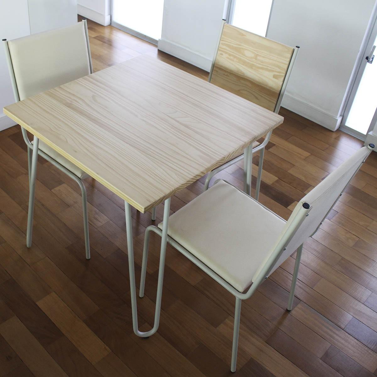 Kit 02 Cadeiras Estofadas Pintadas > CE44