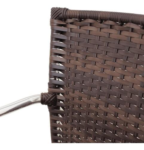 Kit 04 Cadeiras em Alumínio e Fibra Sintética 10mm (CR03) - FRETE GRÁTIS