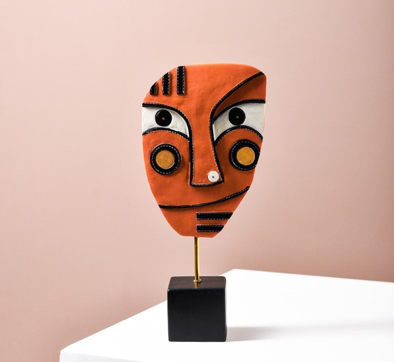Escultura de Mesa Coleção Releitura Mascaras Picasso C