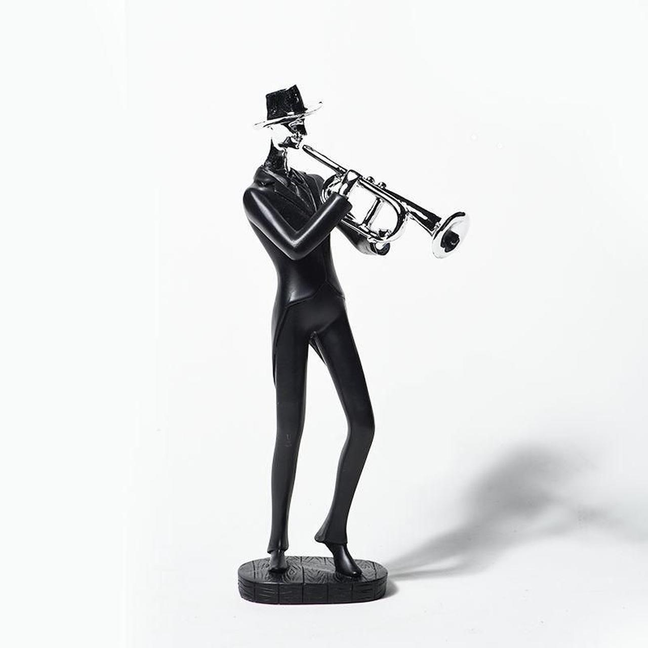 Estatueta Musico Jazz