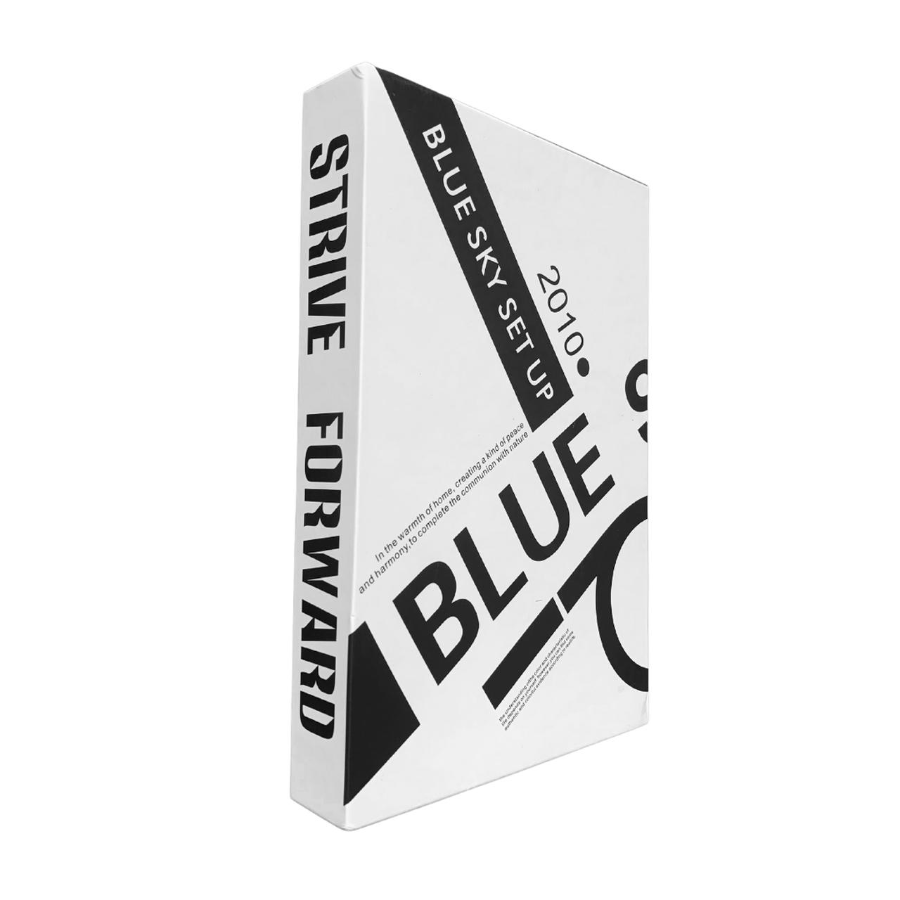 Caixa Livro Decorativa Blue