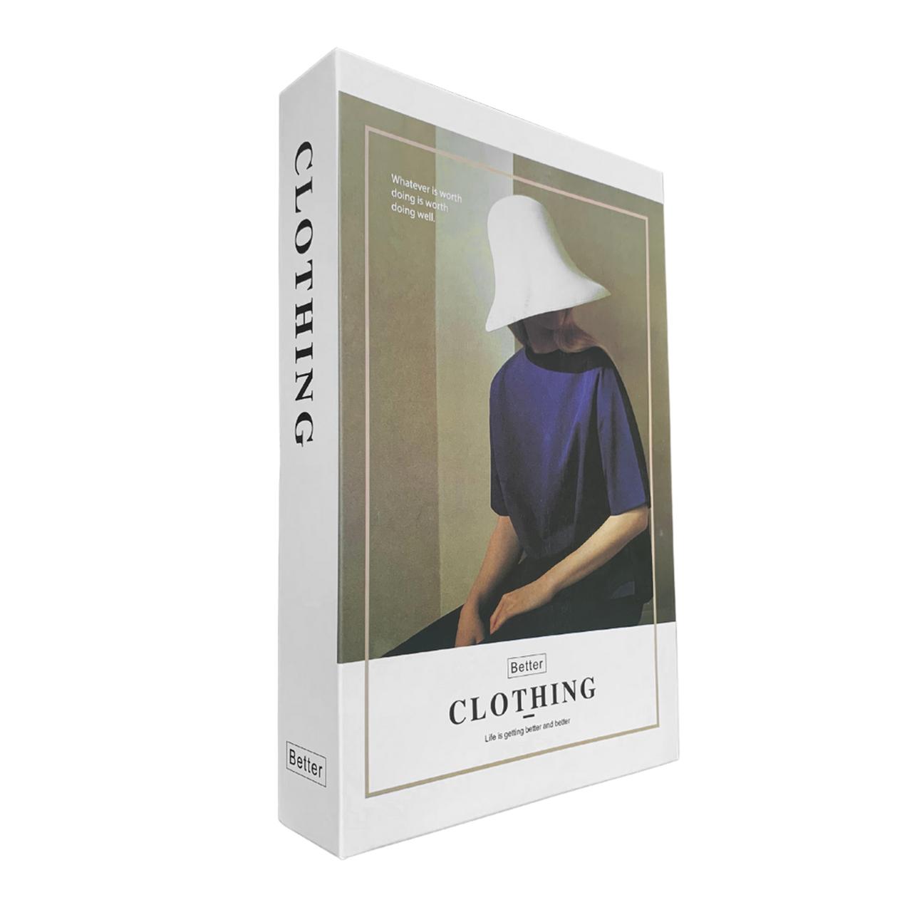 Caixa Livro Decorativa Clothing