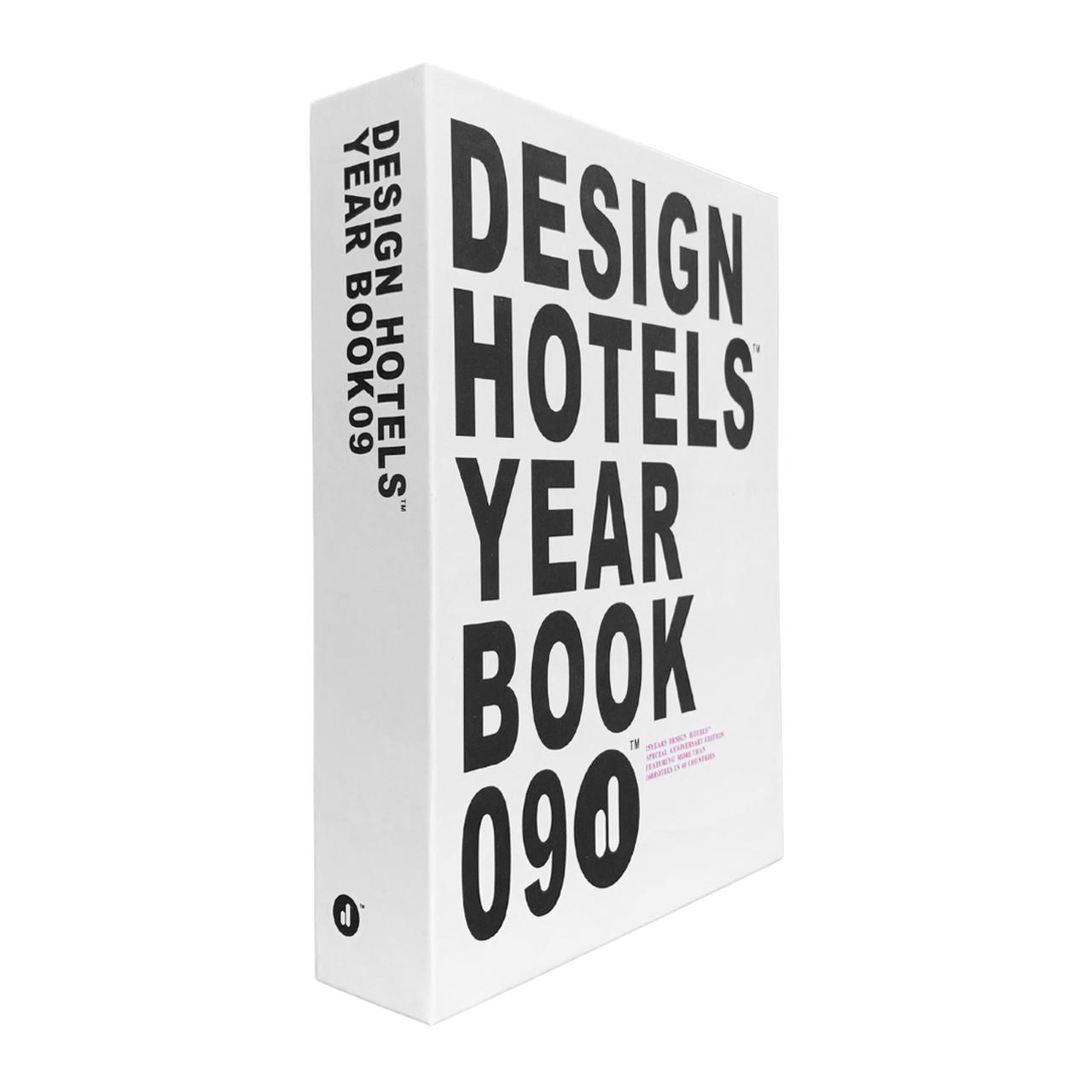 Caixa Livro Decorativa Design Hotels