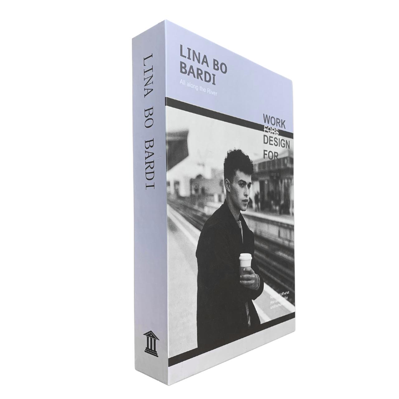 Caixa Livro Decorativa Lina Bo Bardi