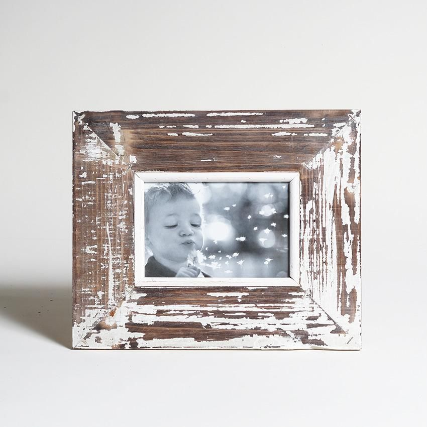 Porta Retrato 4x6 Mad. Demolicao Envelhecido
