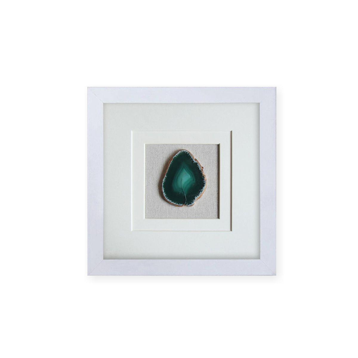 Quadro Decor Art Ágata Esmeralda 3D