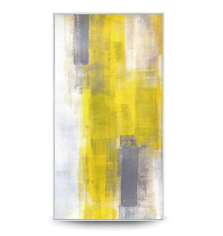 Quadro Decor Abstrato Nuance Amarelo