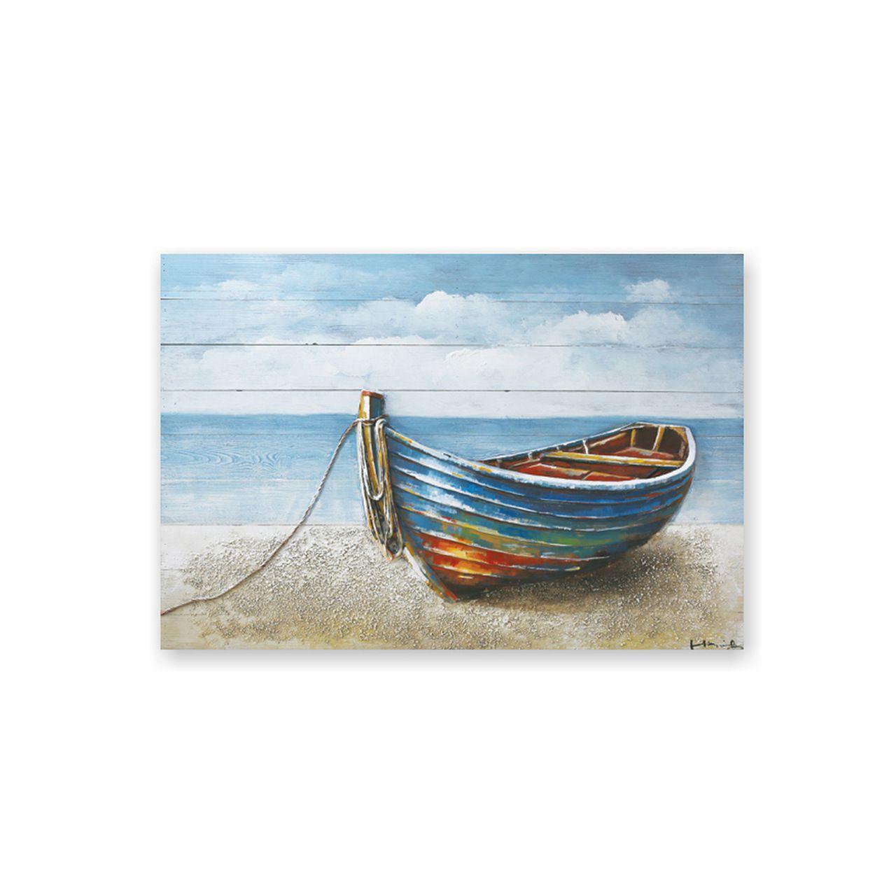 Quadro Decor Art Canoa 3D