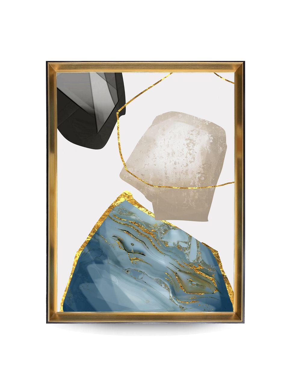Quadro Decor Pespectiva Mineral 2