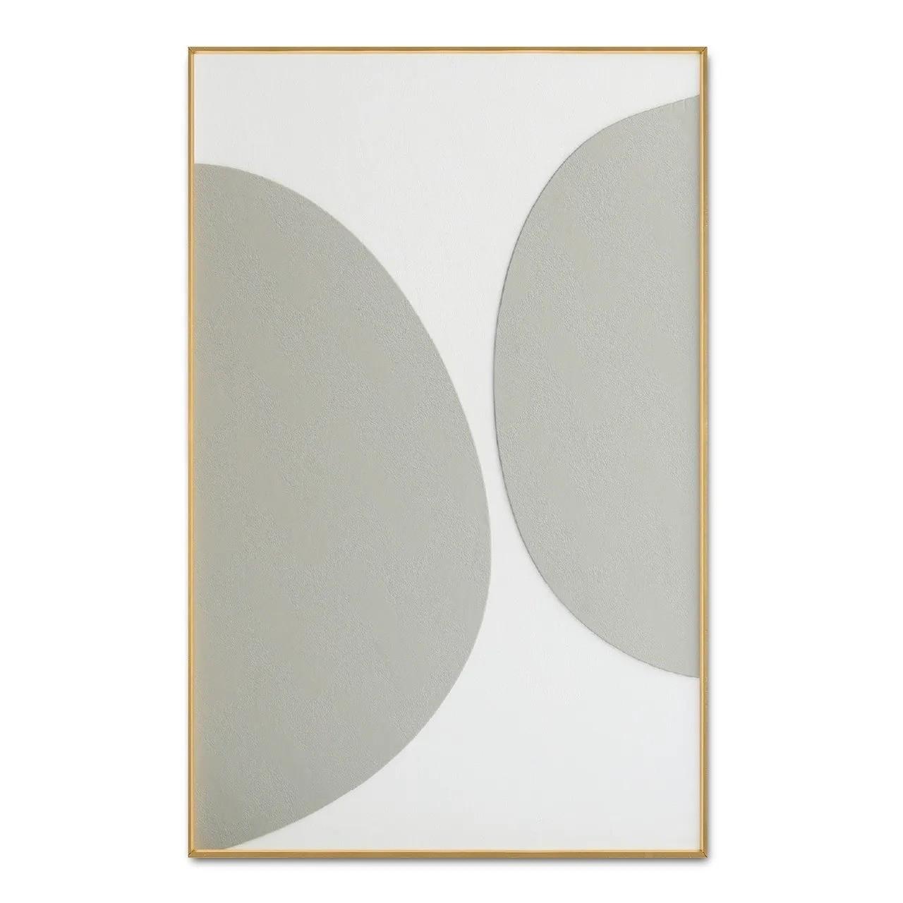 Quadro Decor Coleção Abstrato Circular 2