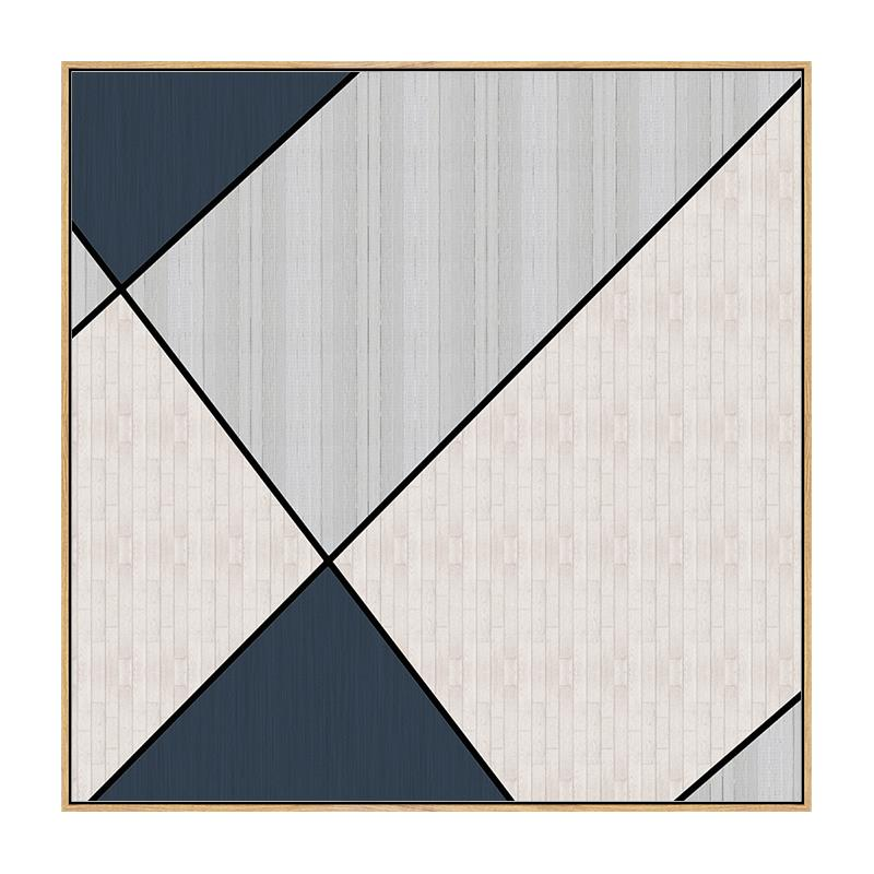 Quadro Decor Mosaico Azul