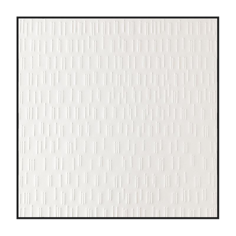 Quadro Decor White Strokes