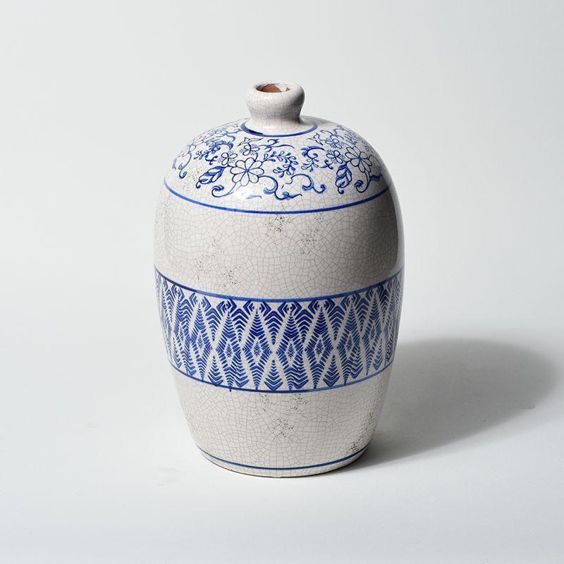 Vaso Mozaico Estilo Portugues em Cerâmica