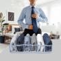 Colmeia Organizadora De Camisa/Blusa Vies Gorg. 6 Nichos Azul