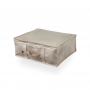 Organizador Roupa De Cama Enxoval M / 35x30x14cm Branco (Pack)