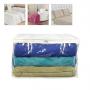 Protetor e Organizador Cobertores Edredons e Mantas G 60x50x28cm (Pack)