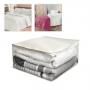Protetor e Organizador Cobertores Edredons e Mantas M 50x50x28CM
