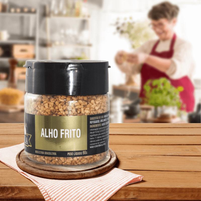 Alho Frito Tempero Gourmet 90g