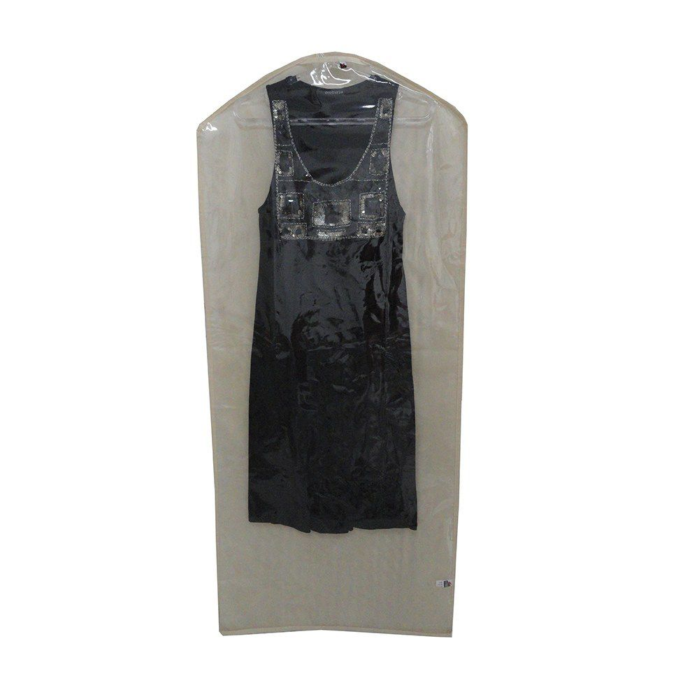 Capa Para Vestido 1 Modelo Saco 55x125cm