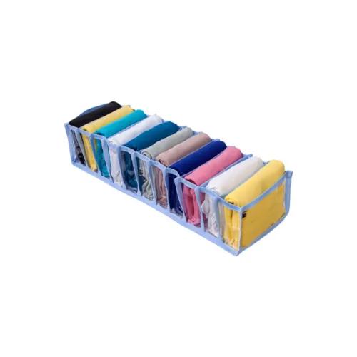 Colmeia Organizadora De Gaveta 11 Nichos 13x38x10cm 1 PL Azul