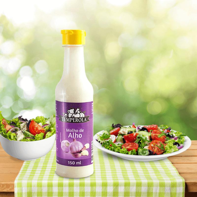 Molho De Alho Para Salada 150ml