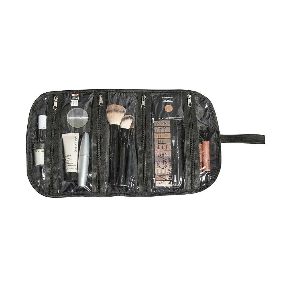 Necessaire Para Pinceis Maquiagem Multiuso 25x45cm