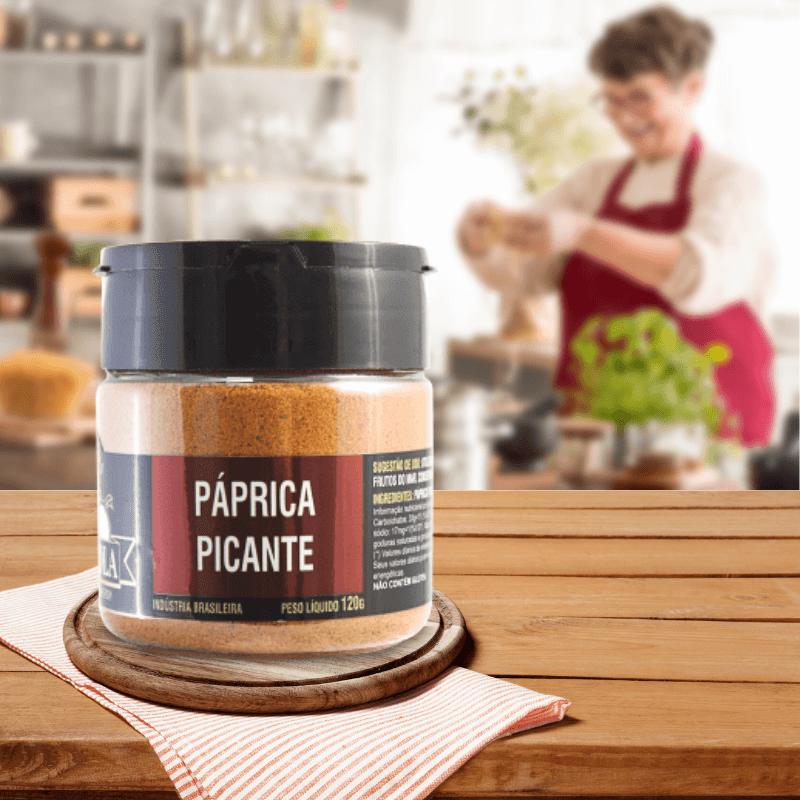 Páprica Picante Tempero Gourmet 120g
