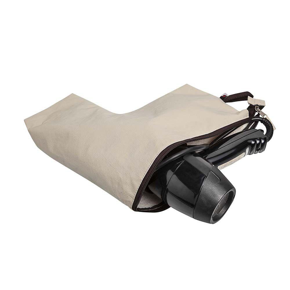 Saco Organizador Protetor Para Secador De Cabelos 31x30x4cm