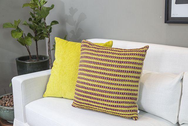 Almofada Amarelo Cítrico 50X50cm
