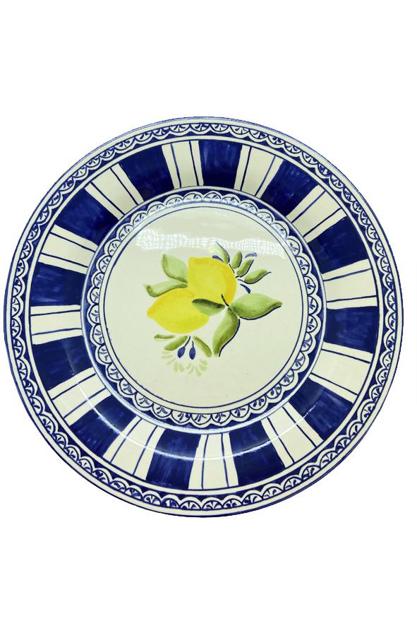 Aparelho de jantar 12 Peças Limão Siciliano