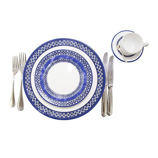 Aparelho de jantar 18 peças Capri