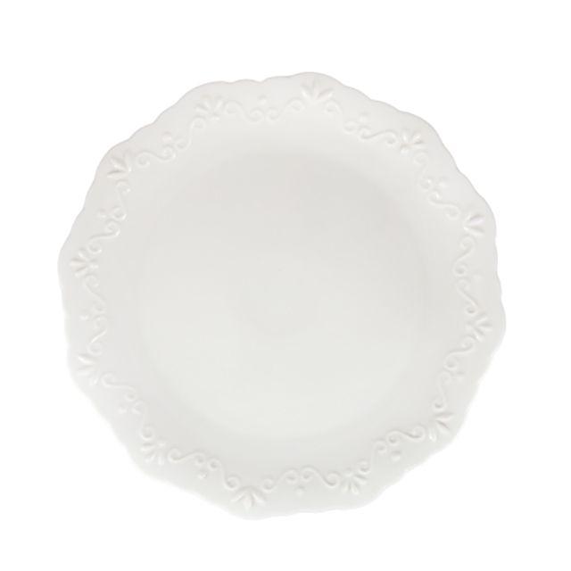 Aparelho de Jantar 24 Peças Alto Relevo