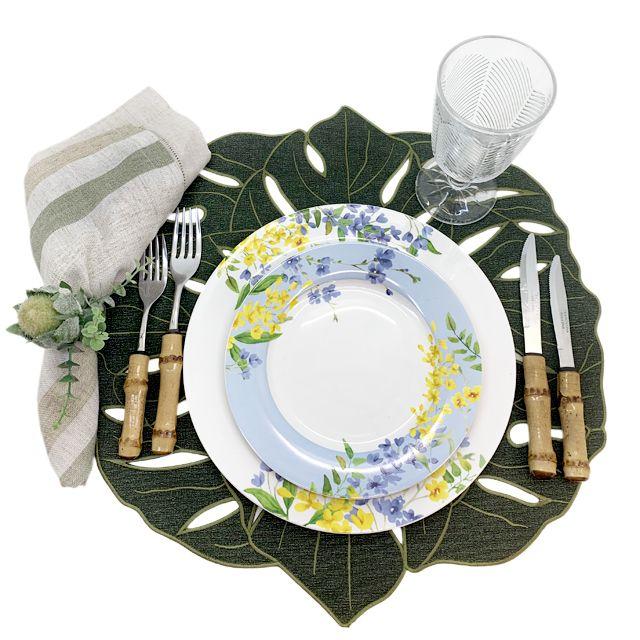 Aparelho De Jantar  Porcelana 30 Peças | Botanic