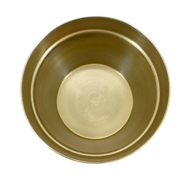 Cachepot em Alumínio Gold P