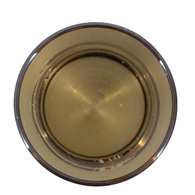 Castiçal em Metal Dourado M