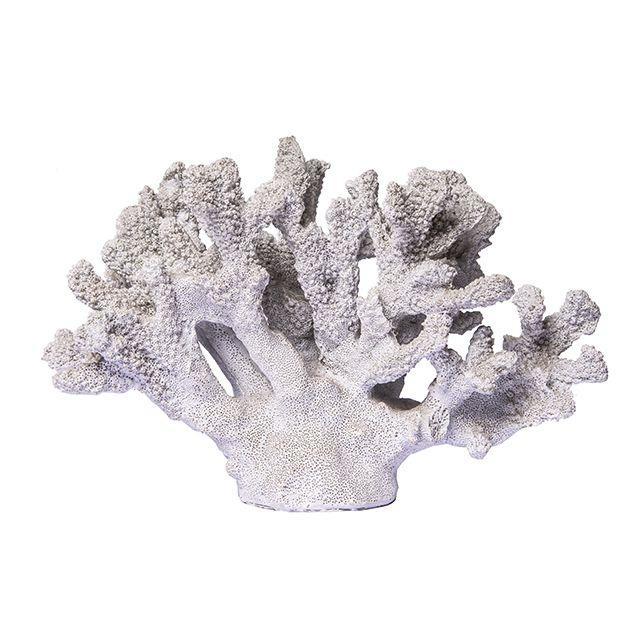 Coral decorativo Off White