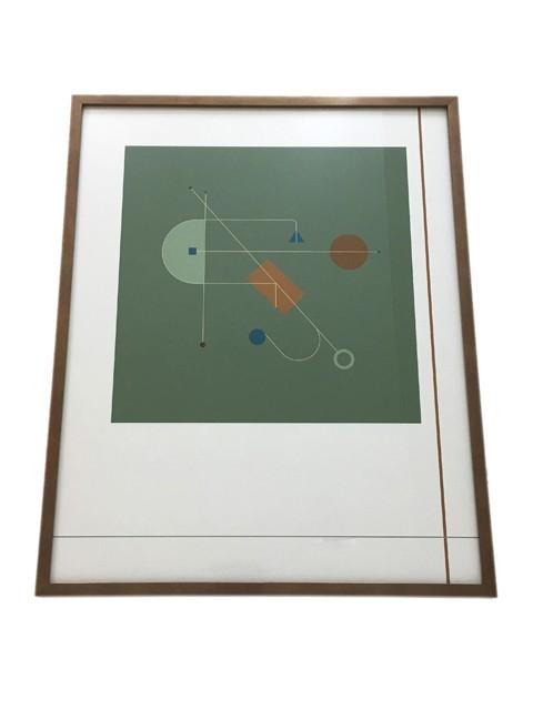 Gravura  Geométrica Santulan II