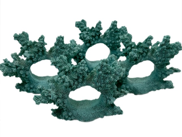 Jogo 4 Argolas Guardanapos Coral