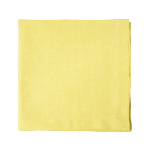 Jogo 06 Guardanapos Amarelo