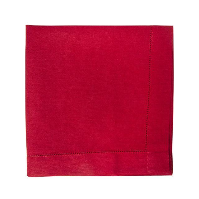 Jogo 06 Guardanapos Vermelhos