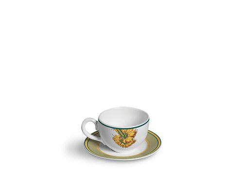 Jogo 6 Xícaras de Chá Banana Da Terra