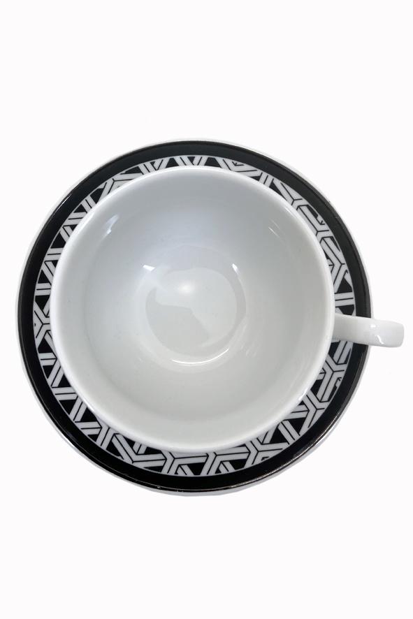 Jogo 6 Xícaras de Chá Trama