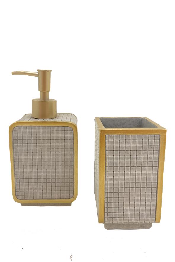 Kit Para Banheiro - 2 Pçs