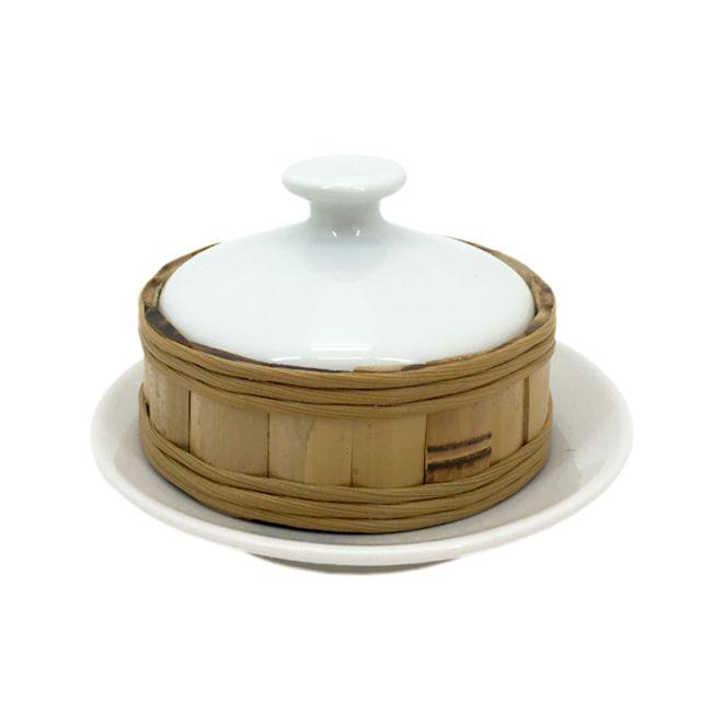Mantegueira em Porcelana e Bambu Natural