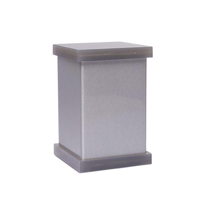 Porta Cotonetes Cinza