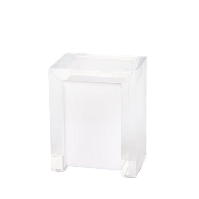 Porta Cotonetes Classic Branco