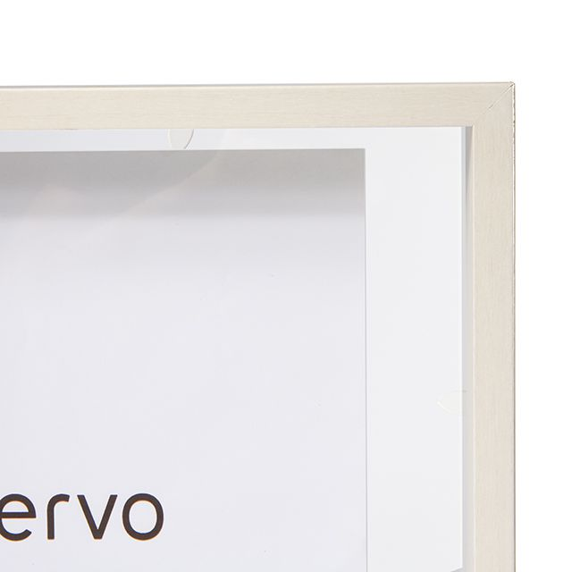 Porta Retrato Madeira Branca e Vidro